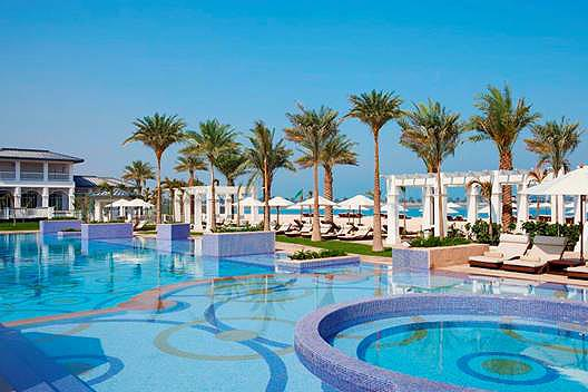 Открытие пляжного клуба Nation Riviera в The St. Regis Abu Dhabi.