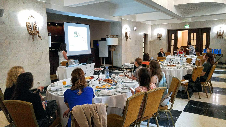 Бизнес-завтрак «АРТ-ТУР» при поддержке Управления по туризму острова Маврикий.