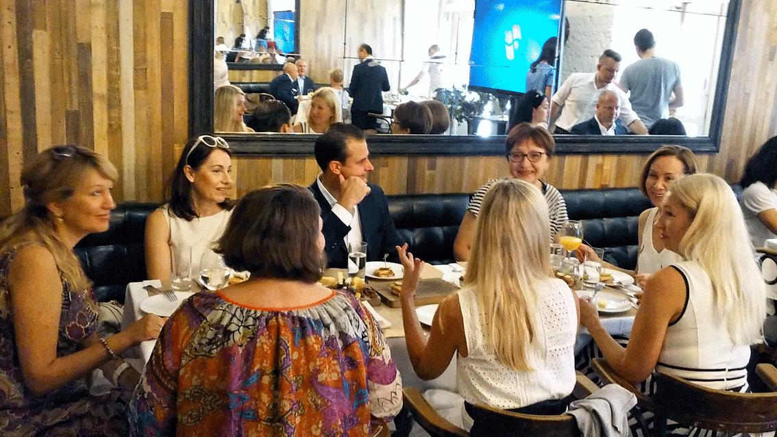 Летний завтрак от «АРТ-ТУР»  и AMAN RESORTS