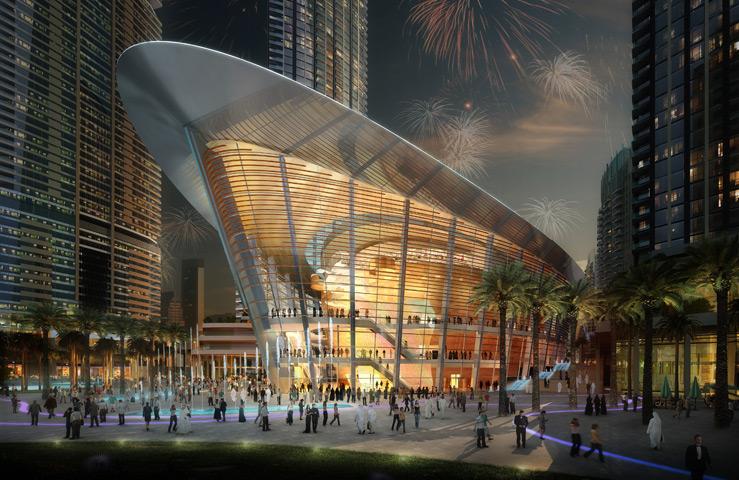 Грандиозное открытие оперы в Дубае!