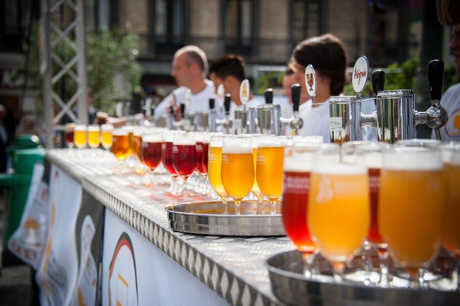 Бельгийский пивной фестиваль  в Брюсселе