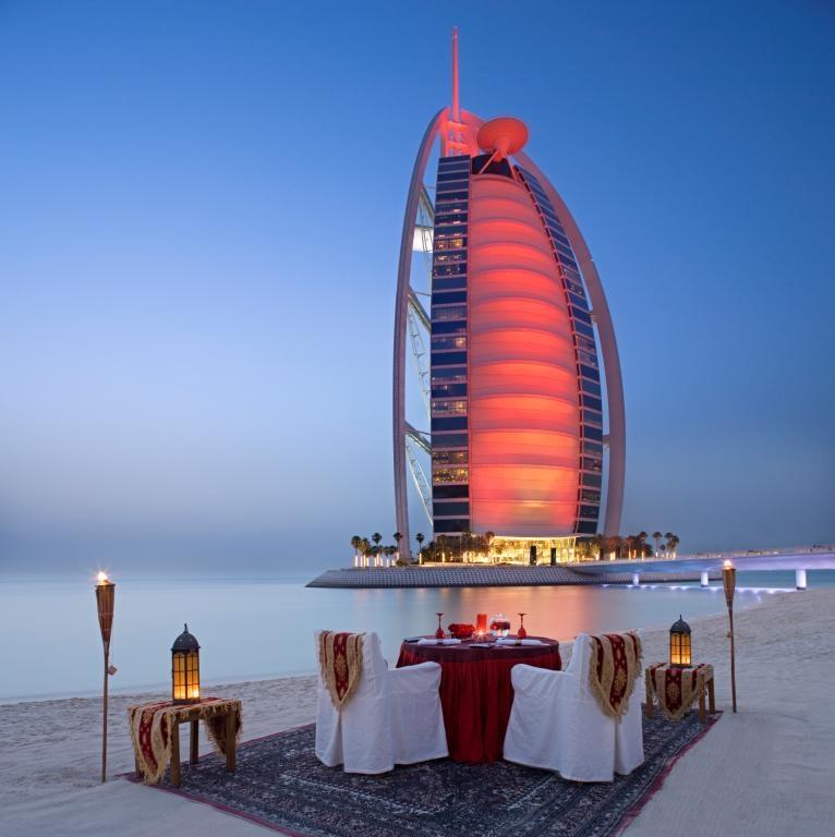 Романтический отдых для влюблённых в ОАЭ