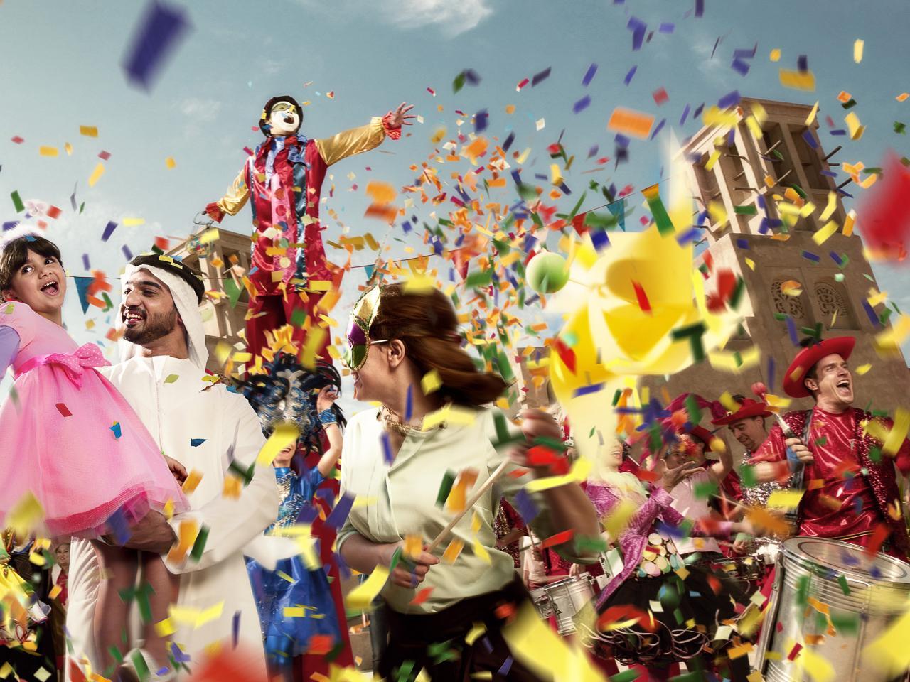 Фестиваль «Дубай - летние сюрпризы» проходит в Дубае