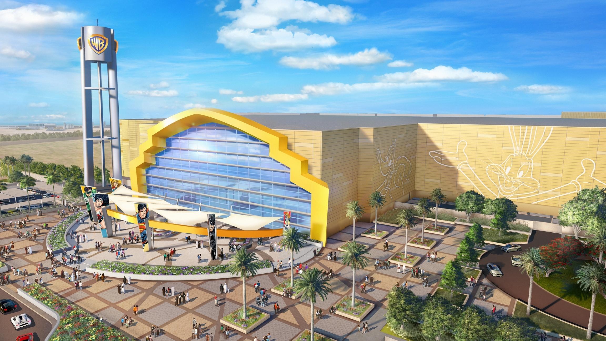 На острове Яс в Абу-Даби откроется тематический парк Warner Bros.