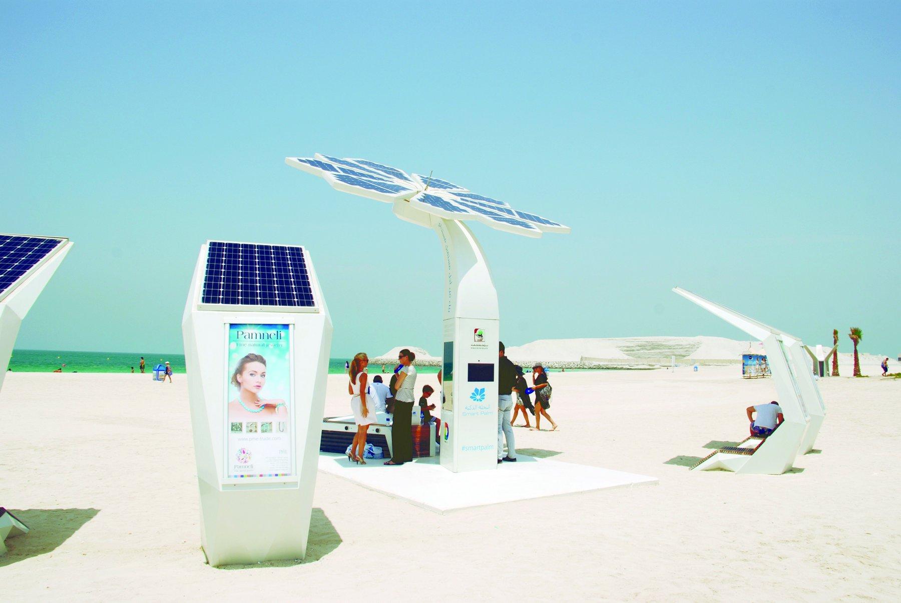 В Дубае появятся умные пляжи.