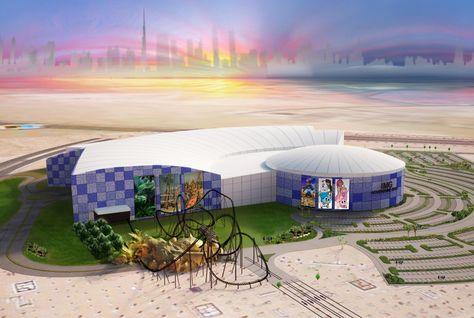 Новый тематический парк IMG World of Adventure.