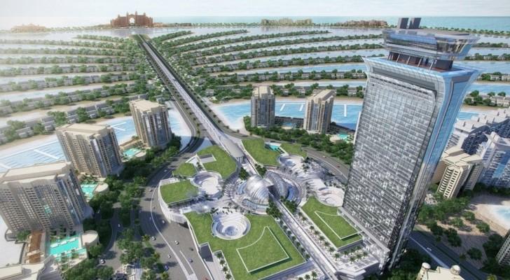Новый элитный пляжный клуб в Дубае, на острове Палм Джумейра.