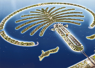 Пальмовые острова в ОАЭ