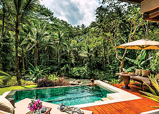 FOUR SEASONS RESORT BALI AT SAYAN  5*Deluxe