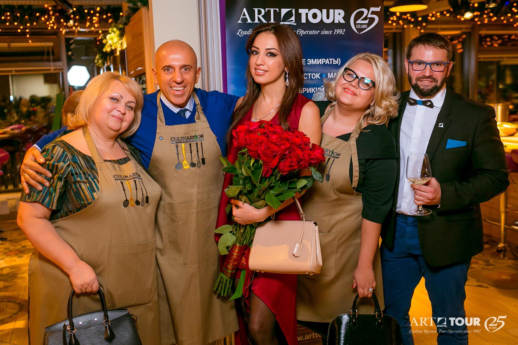 На традиционной Новогодней вечеринке для ТОП-агентов АРТ-ТУР объявил о старте акции «Опять 25»!