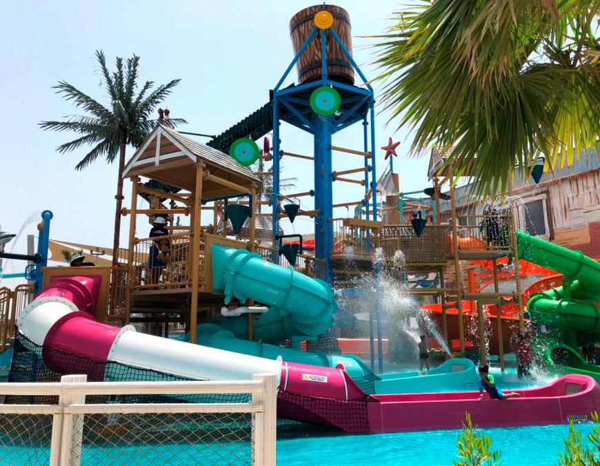 Дубай: Закрытие аквапарков