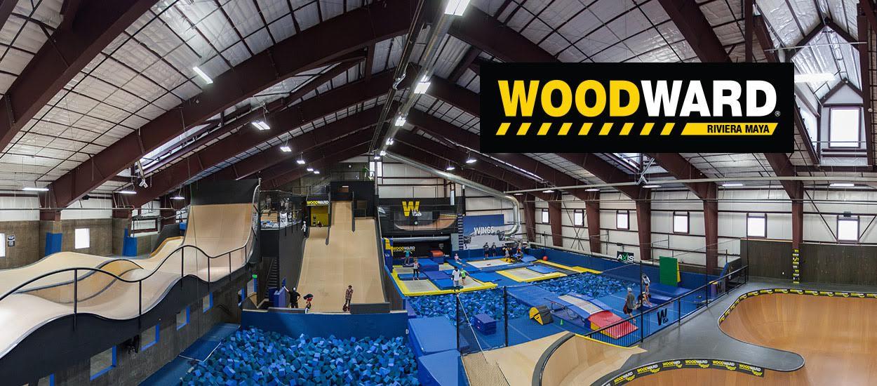 Открылся комплекс экстремальных видов спорта WoodWard