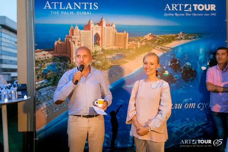 Летняя перезагрузка с Atlantis The Palm, Dubai и «АРТ-ТУР» прошла успешно