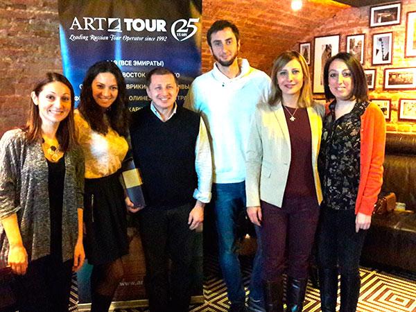 «АРТ-ТУР» провел бизнес-завтрак совместно с KARISMA HOTELS & RESORTS