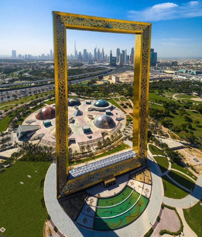 Арка в Дубае
