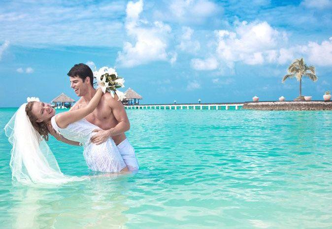Свадебная церемония на Мальдивах БЕСПЛАТНО!
