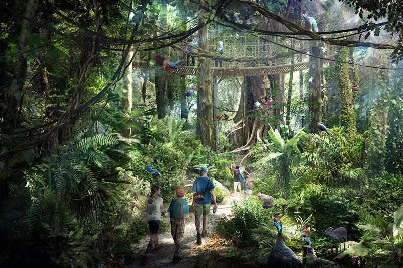 В Сингапуре откроется новый эко-парк Mandai