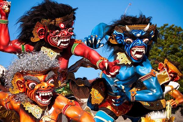Балийский Новый год, День тишины и Ньепи