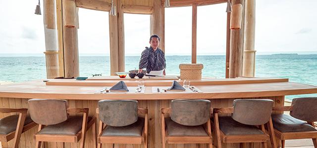 Обладатель 3 звезд Мишлен шеф-повар Кэндзи Гьотен посетит отели Soneva в 2019 и 2020 году