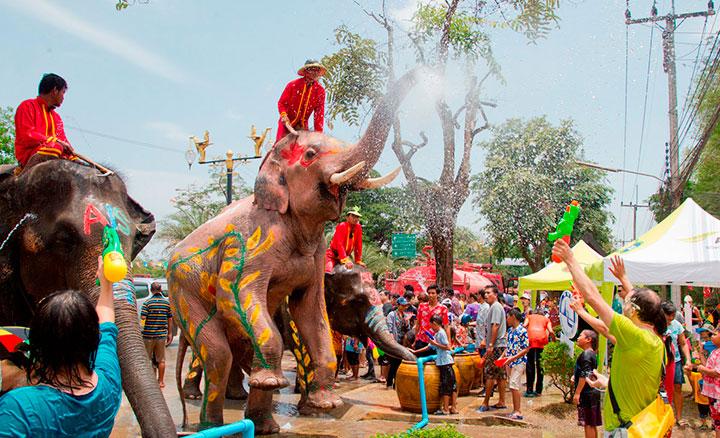«Сонгкран» — Тайский Новый Год празднуют с 13 по 15 апреля 2017г.