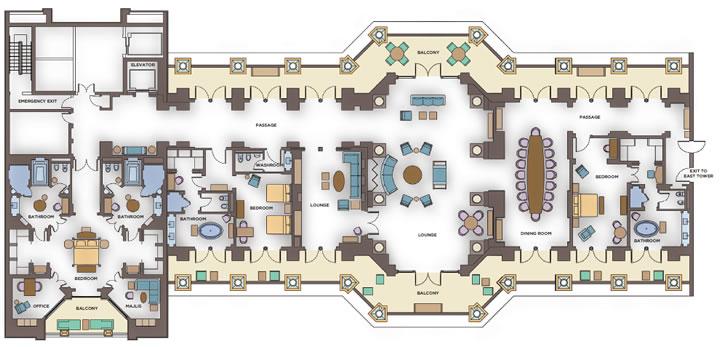 171 Супер люксы 187 Royal Bridge Suite