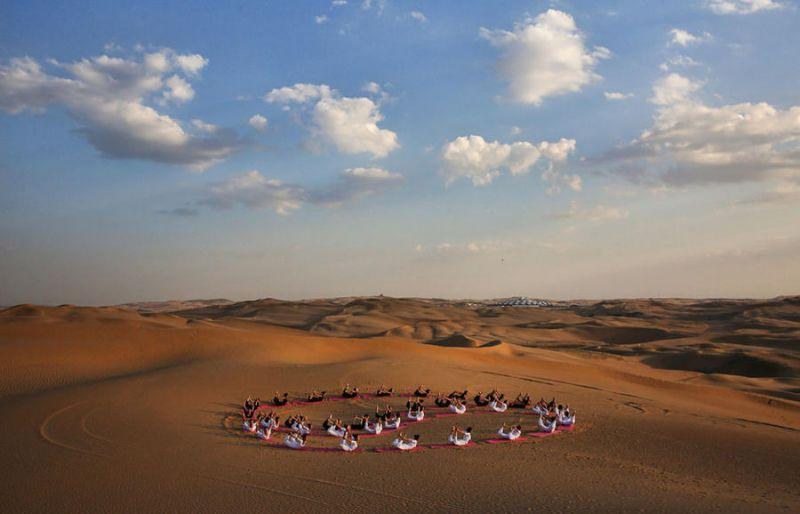 Седьмой фестиваль йоги пройдёт в пустыне Арава в Израиле
