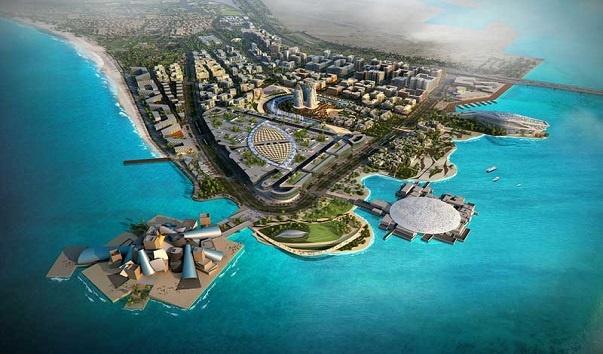 В Абу-Даби появился Остров Счастья