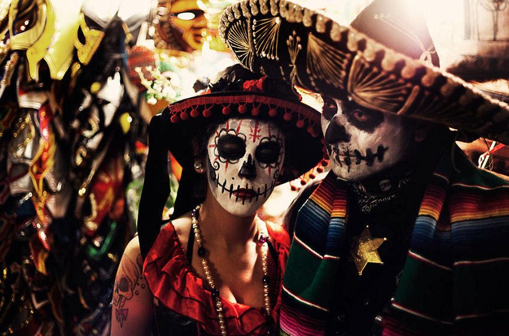 Мексика празднует День Мертвых.