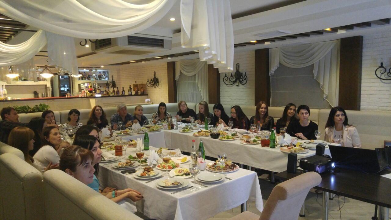 Деловой ужин от «АРТ-ТУР» в Ставрополе!