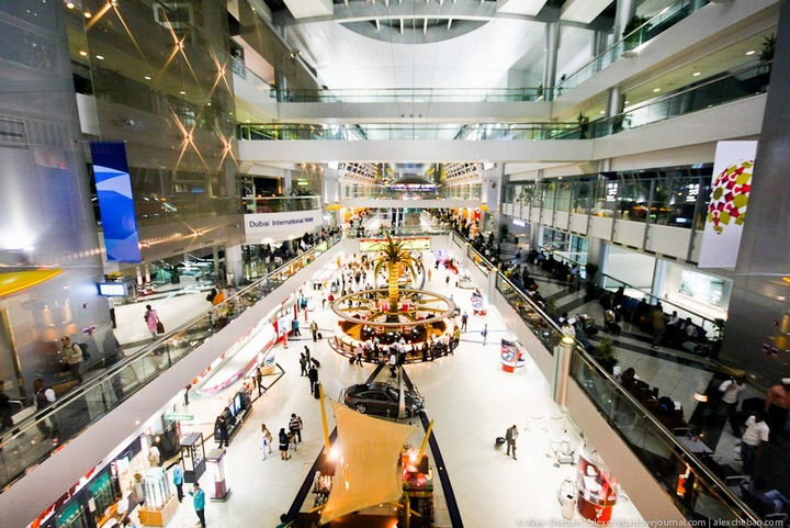 10 вещей, которые можно сделать во время транзита в Дубайском международном аэропорту.