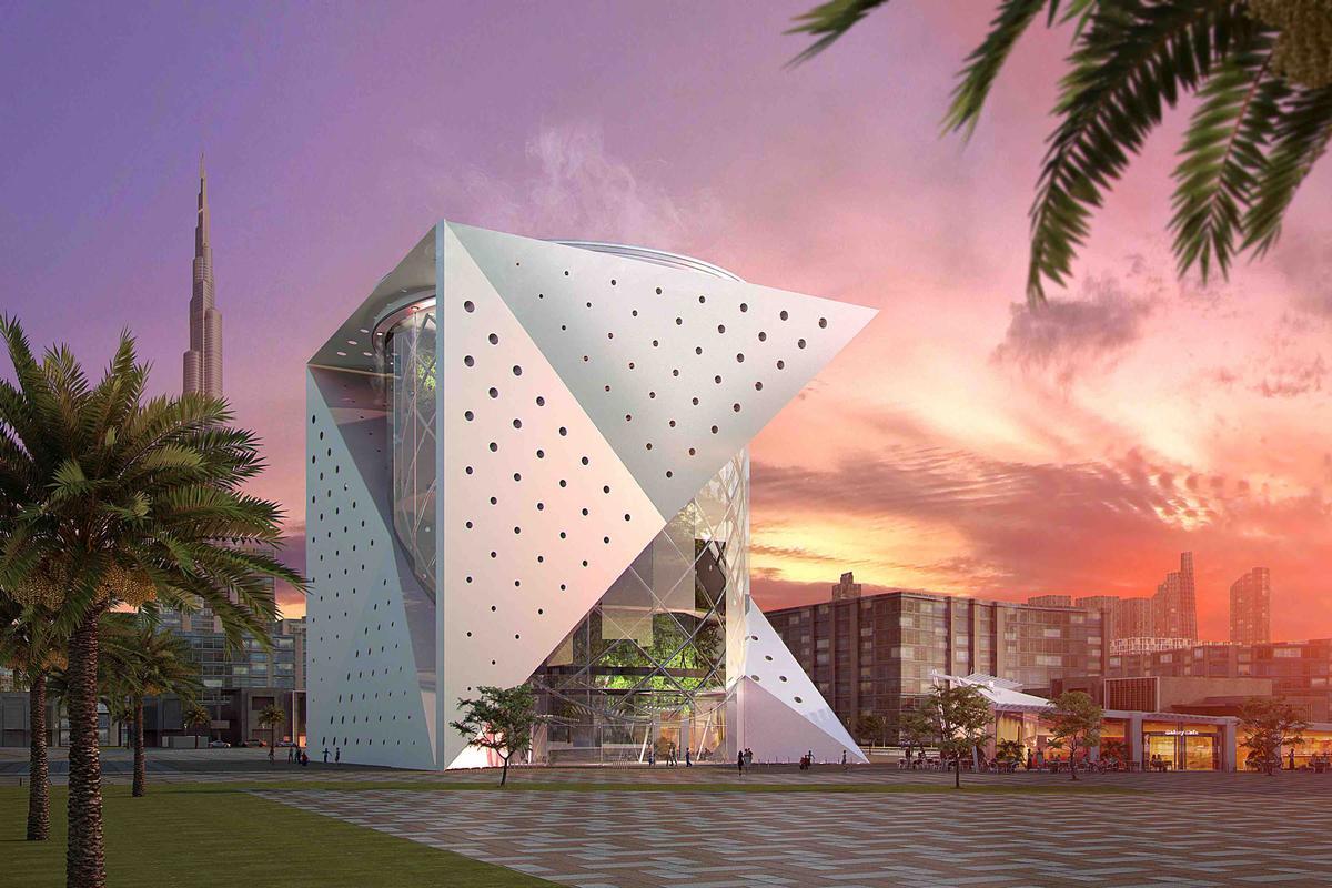 Павильон «Зеленая планета» открывается в Дубае.