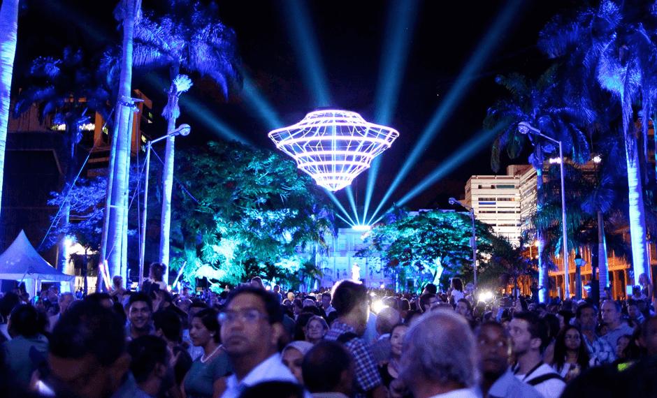 Фестиваль современной культуры PORLWI by light 2016
