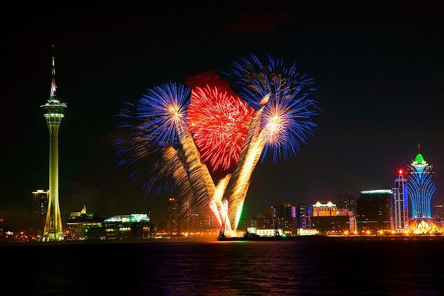 Международный конкурс фейерверков в Макао!