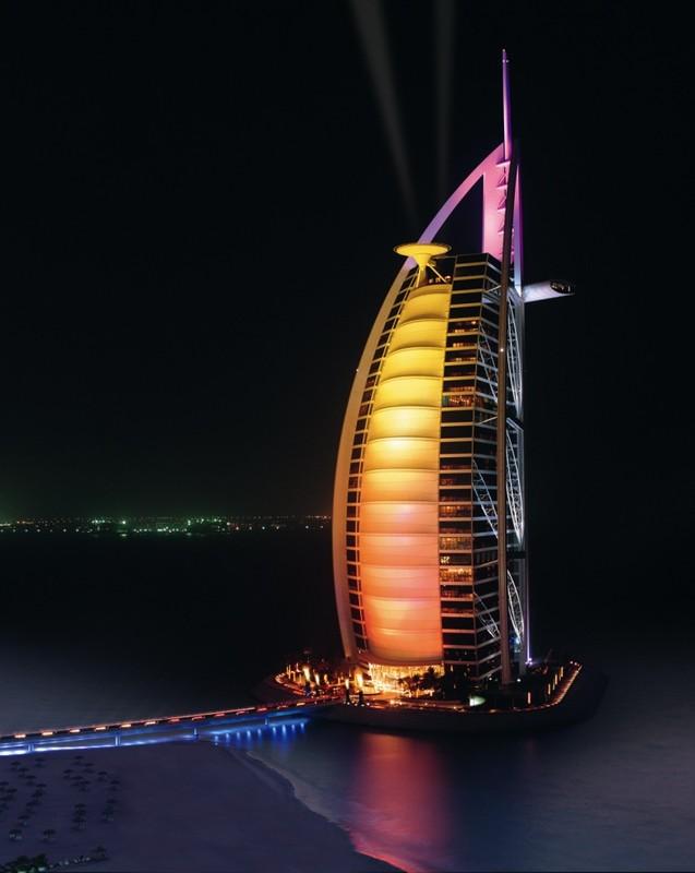 Burj Al Arab отмечает свой юбилей!