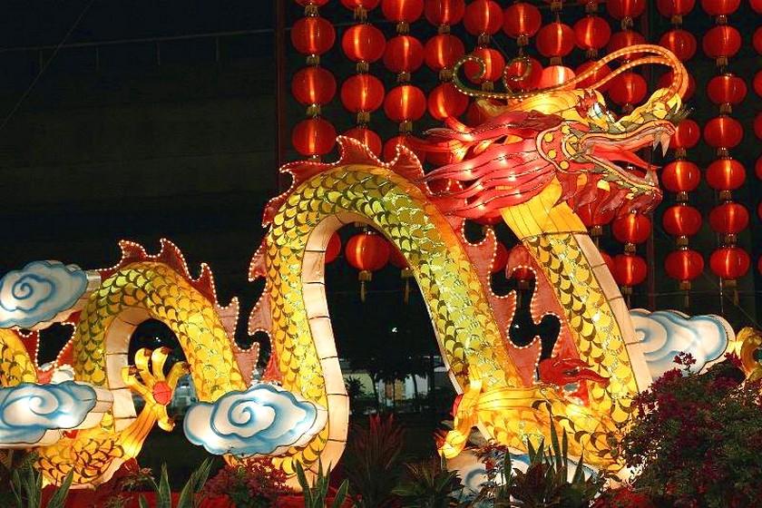 В Сингапуре отмечают китайский Новый год!