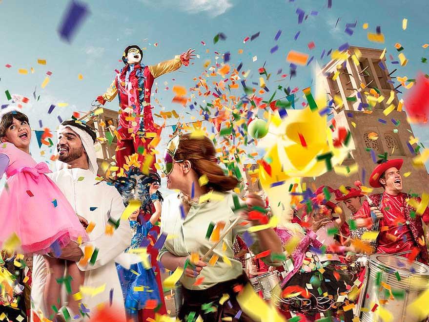 Фестиваль «Дубай – летние сюрпризы»: 45 дней лета!