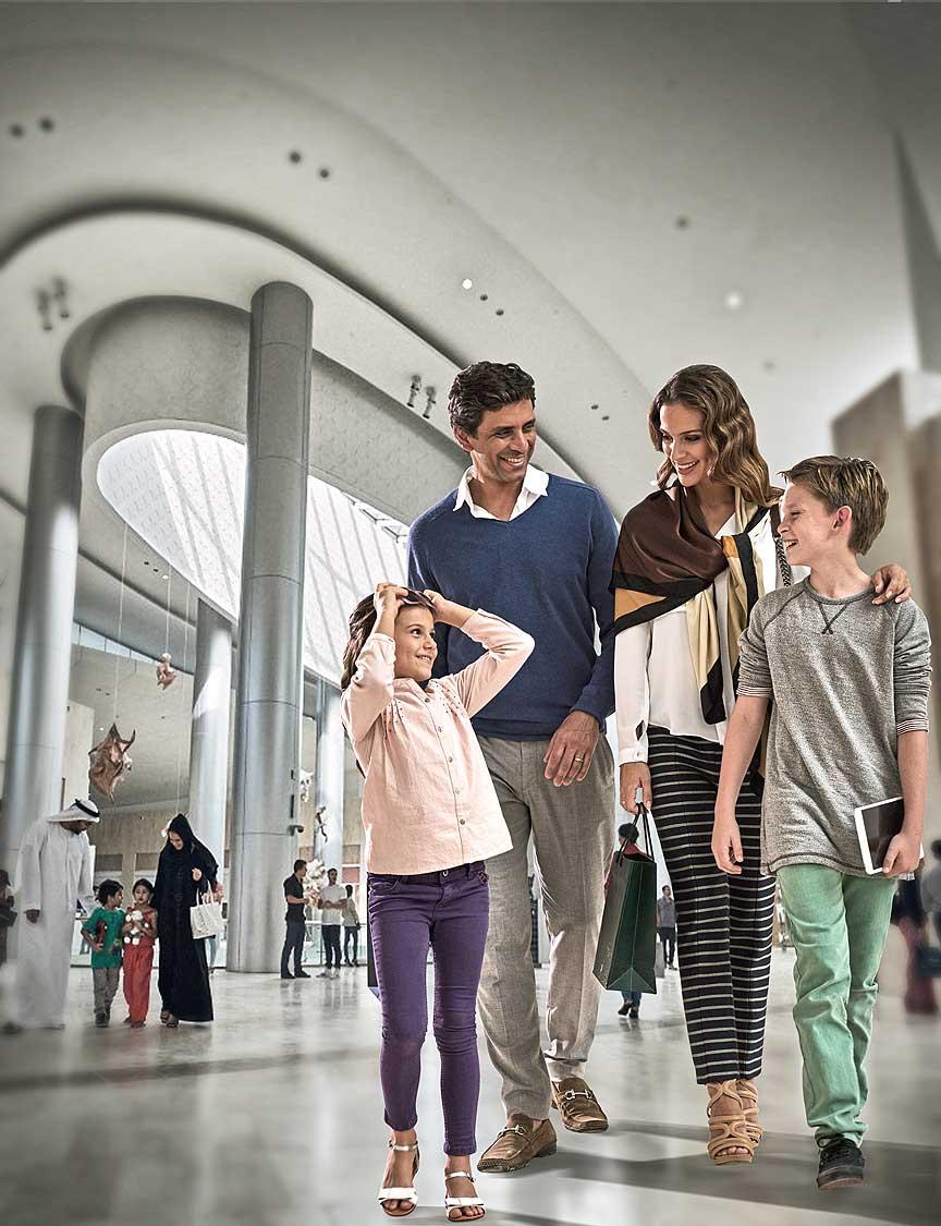 В Абу-Даби открылся Yas Mall - самый большой торговый центр!