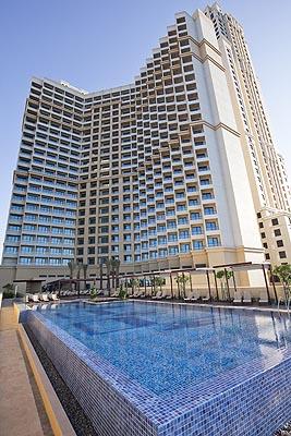 Окончание строительных работ в JA Ocean View Hotel (Дубаи).