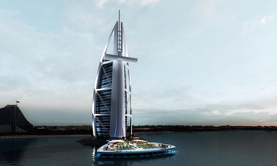 Burj Al Arab Jumeirah представит морскую палубу North Deck!