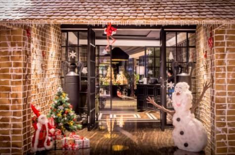 Подготовка к новогодним и рождественским торжествам в ОАЭ