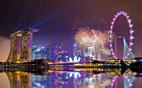 Рождество в Сингапуре - яркий и веселый праздник!