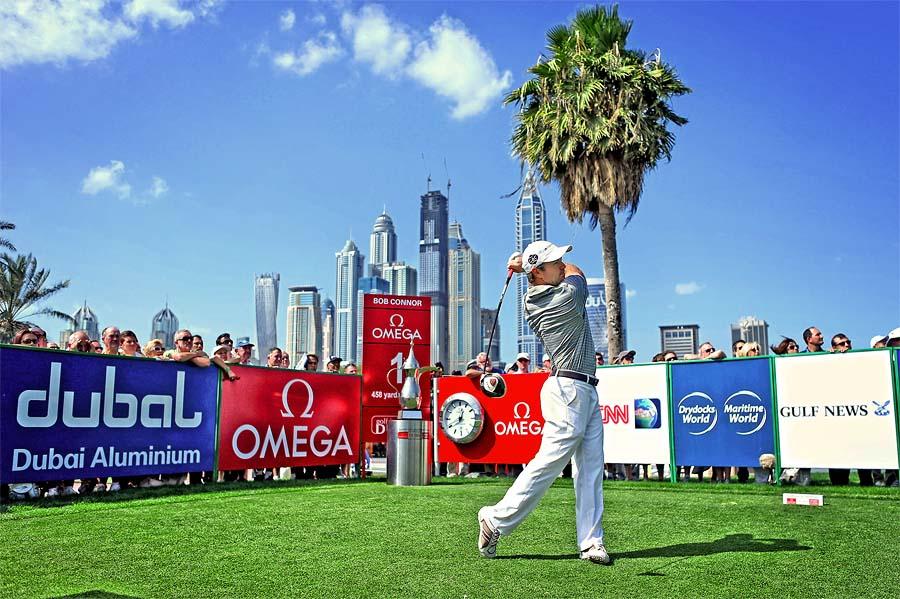 Сегодня в Дубае стартует гольф-турнир Omega Desert Classic!